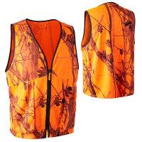 Deerhunter Protector Weste Orange GH Camo mit Taschen