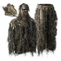Deerhunter Sneaky Ghillie Überzieh Anzug mit Handschuhe