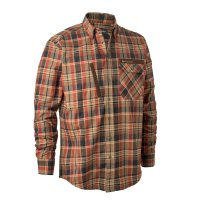 Deerhunter Hektor Hemd Orange Check