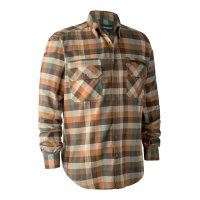 Deerhunter James Hemd Brown Check