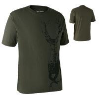 Deerhunter T-Shirt mit Hirsch