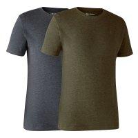 Deerhunter Basic T-Shirt im 2er-Pack