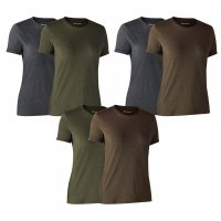 Deerhunter Lady Damen Basic T-Shirt im 2er-Pack
